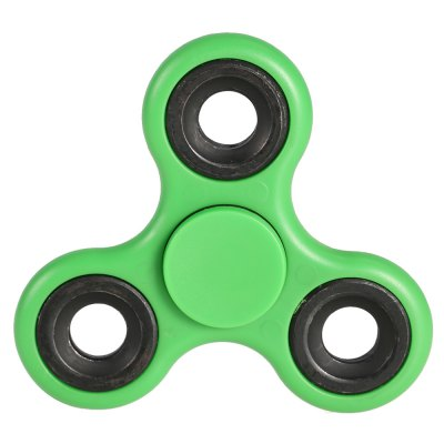Tri-wing ABS Fidget SpinnerFidget Spinners<br>Tri-wing ABS Fidget Spinner<br><br>Color: Green<br>Frame material: ABS<br>Package Contents: 1 x Fidget Spinner<br>Package size (L x W x H): 9.00 x 9.00 x 1.50 cm / 3.54 x 3.54 x 0.59 inches<br>Package weight: 0.0760 kg<br>Product size (L x W x H): 7.50 x 7.50 x 1.30 cm / 2.95 x 2.95 x 0.51 inches<br>Product weight: 0.0610 kg<br>Swing Numbers: 3<br>Type: Triple Blade