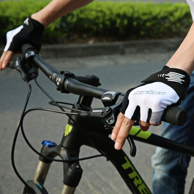 SAHOO 411430 Cycling GlovesCycling Gloves<br>SAHOO 411430 Cycling Gloves<br><br>Brand: SAHOO<br>Features: Breathable, Quick Dry, Shock Absorption, Skid Resistance<br>Gender: Unisex<br>Package Contents: 1 x Pair of SAHOO 411430 Cycling Gloves<br>Package size (L x W x H): 27.00 x 16.00 x 1.00 cm / 10.63 x 6.3 x 0.39 inches<br>Package weight: 0.0900 kg<br>Product size (L x W x H): 15.00 x 13.00 x 1.00 cm / 5.91 x 5.12 x 0.39 inches<br>Product weight: 0.0500 kg<br>Size: One Size<br>Type: Half-finger