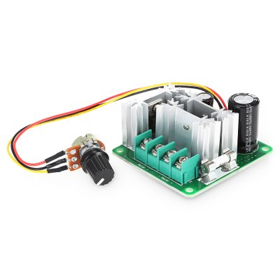 CCMHCN 6V - 90V Speed Regulation of DC MotorPower<br>CCMHCN 6V - 90V Speed Regulation of DC Motor<br><br>Model: CCMHCN<br>Package Contents: 1 x DC Motor Speed Controller<br>Package Size(L x W x H): 14.50 x 11.00 x 3.80 cm / 5.71 x 4.33 x 1.5 inches<br>Package weight: 0.1060 kg<br>Product Size(L x W x H): 6.40 x 5.90 x 2.80 cm / 2.52 x 2.32 x 1.1 inches<br>Product weight: 0.0760 kg<br>Type: Motor Speed Controller