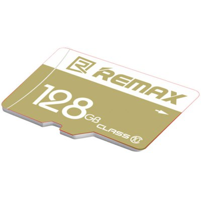 REMAX 128GB Micro SD Memory CardMemory Cards<br>REMAX 128GB Micro SD Memory Card<br><br>Brand: REMAX<br>Class Rating: Class 10<br>Memory Capacity: 128GB<br>Memory Card Type: Micro SD/TF<br>Package Contents: 1 x TF Memory Card<br>Package size (L x W x H): 15.00 x 13.00 x 3.00 cm / 5.91 x 5.12 x 1.18 inches<br>Package weight: 0.0700 kg<br>Product size (L x W x H): 1.10 x 1.50 x 0.10 cm / 0.43 x 0.59 x 0.04 inches<br>Support 4K Video Recording: No<br>Type: Memory Card<br>UHS Speed Class: C10