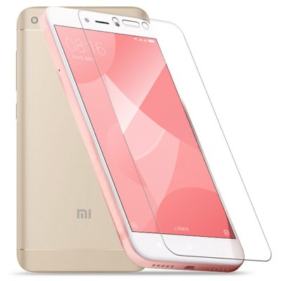 2pcs Luanke 2.5D 9H Screen FilmScreen Protectors<br>2pcs Luanke 2.5D 9H Screen Film<br><br>Brand: Luanke<br>Compatible Model: Redmi 4X<br>Features: Ultra thin, High-definition, High Transparency, High sensitivity, Anti-oil, Anti scratch, Anti fingerprint<br>Mainly Compatible with: Xiaomi<br>Material: Tempered Glass<br>Package Contents: 2 x Screen Film, 2 x Dust Remover, 2 x Wet Wipes, 2 x Dry Wipes<br>Package size (L x W x H): 20.00 x 13.00 x 2.00 cm / 7.87 x 5.12 x 0.79 inches<br>Package weight: 0.1220 kg<br>Product Size(L x W x H): 13.00 x 6.15 x 0.03 cm / 5.12 x 2.42 x 0.01 inches<br>Product weight: 0.0160 kg<br>Surface Hardness: 9H<br>Thickness: 0.3mm<br>Type: Body Sticker
