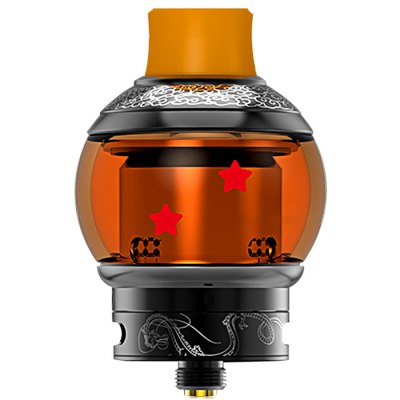 Original Fumytech Dragon Ball RDTARebuildable Atomizers<br>Original Fumytech Dragon Ball RDTA<br><br>Brand: Fumytech<br>Material: Stainless Steel, Glass<br>Model: Dragon Ball<br>Overall Diameter: 24mm<br>Package Contents: 1 x Dragon Ball RDTA, 1 x Extra Glass Tank, 1 x Japanese Organic Cotton, 4 x Hex Socket Grub Screw, 1 x Screwdriver, 5 x Silicone Ring, 4 x Staple Full N80 Coil<br>Package size (L x W x H): 8.30 x 5.60 x 5.10 cm / 3.27 x 2.2 x 2.01 inches<br>Package weight: 0.1584 kg<br>Product size (L x W x H): 5.36 x 3.50 x 3.50 cm / 2.11 x 1.38 x 1.38 inches<br>Product weight: 0.0780 kg<br>Rebuildable Atomizer: RBA,RDA,RTA<br>Tank Capacity: 4.0ml<br>Thread: 510<br>Type: Rebuildable Atomizer, Rebuildable Drippers, Rebuildable Tanks