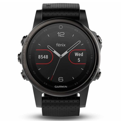 GARMIN Fenix 5S Bluetooth SmartwatchSmart Watches<br>GARMIN Fenix 5S Bluetooth Smartwatch<br><br>Alert type: Ring, Vibration<br>Band material: Synthetic Resin<br>Band size: 22 x 2.0 cm<br>Battery  Capacity: 300mAh<br>Bluetooth calling: Callers name display,Phone call reminder<br>Bluetooth Version: Bluetooth 4.0<br>Brand: GARMIN<br>Case material: Stainless Steel<br>Charging Time: About 4 hours<br>Compatability: Android 4.3 and iOS 7.0 above<br>Compatible OS: Android, IOS<br>Dial size: 4.2 x 4.2 x 1.45 cm<br>Find phone: Yes<br>Groups of alarm: 5<br>Health tracker: Heart rate monitor,Pedometer,Sedentary reminder,Sleep monitor<br>IP rating: IP67<br>Locking screen : 6<br>Messaging: Message reminder<br>Notification: Yes<br>Operating mode: Press button<br>Other Function: Voice recorder, Calculator, Calender<br>Package Contents: 1 x GARMIN Fenix 5S Smartwatch, 1 x Extra Watchband, 1 x English Manual, 1 x USB Charger<br>Package size (L x W x H): 10.00 x 10.00 x 10.00 cm / 3.94 x 3.94 x 3.94 inches<br>Package weight: 0.3690 kg<br>People: Female table,Male table<br>Product size (L x W x H): 22.00 x 2.00 x 1.45 cm / 8.66 x 0.79 x 0.57 inches<br>Product weight: 0.0680 kg<br>RAM: 64MB<br>Remote control function: Remote Camera<br>ROM: 128MB<br>Screen: LCD<br>Screen size: 1.1 inch<br>Shape of the dial: Round<br>Standby time: 4 weeks<br>Type of battery: Li-polymer<br>Waterproof: Yes<br>Wearing diameter: 14 - 22 cm