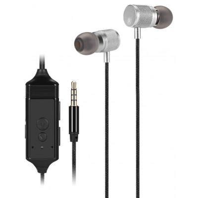 Portable 3-in-1 In-ear Stereo Headphones