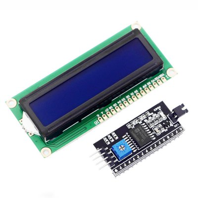 New IIC / I2C with 1602 LCD Display Screen (blue) Board Module for Arduino