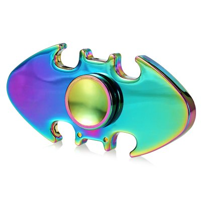 Colorful Two-wing Zinc Alloy ADHD Fidget Spinner