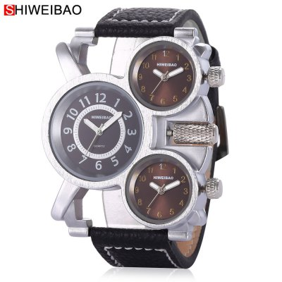 SHI WEI BAO J1106 Men Quartz Watch