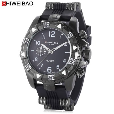 SHI WEI BAO 1368 Men Quartz Watch