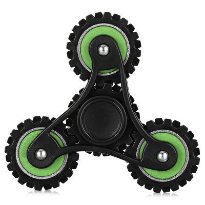 Four-gear Linkage Plastic ADHD Fidget SpinnerFidget Spinners<br>Four-gear Linkage Plastic ADHD Fidget Spinner<br><br>Color: Black and Green<br>Frame material: Plastic<br>Package Contents: 1 x Fidget Spinner<br>Package size (L x W x H): 9.80 x 9.80 x 3.10 cm / 3.86 x 3.86 x 1.22 inches<br>Package weight: 0.0890 kg<br>Product size (L x W x H): 8.20 x 8.20 x 2.10 cm / 3.23 x 3.23 x 0.83 inches<br>Product weight: 0.0550 kg<br>Swing Numbers: 3<br>Type: Linkage