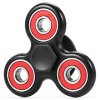 Buy Trolley Coin Tri-bar Fidget Spinner Stress Relief Toy BLACK RED