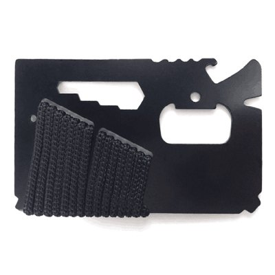 Multifunctional 14 in 1 Card Tool Ruler Knife Bottle Opener Peeler Household Outdoor Activities GadgetsEDC Tools<br>Multifunctional 14 in 1 Card Tool Ruler Knife Bottle Opener Peeler Household Outdoor Activities Gadgets<br><br>Blade Material: Stainless Steel<br>Color: Black<br>For: Adventure, Camping, Climbing, Hiking, Home use<br>Package Contents: 1 x 14 in 1 Card<br>Package size (L x W x H): 10.00 x 7.00 x 1.00 cm / 3.94 x 2.76 x 0.39 inches<br>Package weight: 0.0710 kg<br>Product size (L x W x H): 8.70 x 5.50 x 0.20 cm / 3.43 x 2.17 x 0.08 inches<br>Product weight: 0.0370 kg<br>Type: Multitools