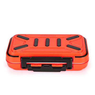 HaKKaDeal Anti-slip Water-resistant Fishing Tackle Storage BoxFishing Tools and Accessories<br>HaKKaDeal Anti-slip Water-resistant Fishing Tackle Storage Box<br><br>Brand: HakkaDeal<br>Material: ABS Plastic<br>Package Contents: 1 x HaKKaDeal Fishing Tackle Storage Box<br>Package size (L x W x H): 17.00 x 10.00 x 5.00 cm / 6.69 x 3.94 x 1.97 inches<br>Package weight: 0.2750 kg<br>Product size (L x W x H): 16.00 x 9.00 x 4.50 cm / 6.3 x 3.54 x 1.77 inches<br>Product weight: 0.2350 kg
