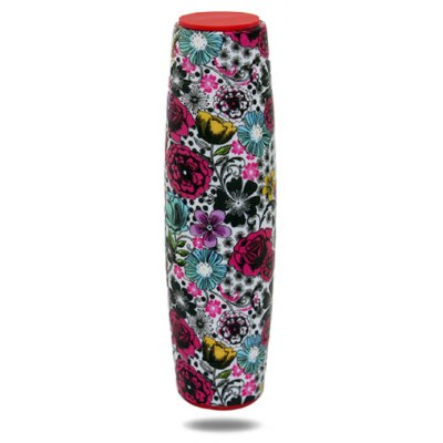 Floral Water Transfer Printing ABS Fidget Roller