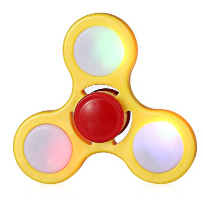 LED Light ADHD Fidget Spinner Hand Spinning Toy