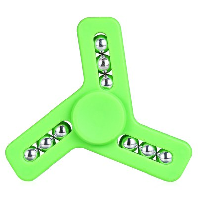 Nine Bead ADHD Fidget Spinner Hand Spinning ToyFidget Spinners<br>Nine Bead ADHD Fidget Spinner Hand Spinning Toy<br><br>Color: Green<br>Frame material: ABS<br>Package Contents: 1 x Fidget Spinner<br>Package size (L x W x H): 9.00 x 9.00 x 3.00 cm / 3.54 x 3.54 x 1.18 inches<br>Package weight: 0.0450 kg<br>Product size (L x W x H): 7.20 x 7.20 x 1.60 cm / 2.83 x 2.83 x 0.63 inches<br>Product weight: 0.0280 kg