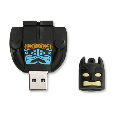 Caraele Batman USB Flash DriveUSB Flash Drives<br>Caraele Batman USB Flash Drive<br><br>Available Capacity: 16G,32G,64G,8G<br>Capacity: 16G,32G,64G,8G<br>Interface: USB 2.0<br>Max. Read Speed: 20MB/s<br>Max. Write Speed: 10MB/s<br>Package Contents: 1 x Caraele Batman USB Flash Drive<br>Package size (L x W x H): 4.50 x 7.00 x 3.00 cm / 1.77 x 2.76 x 1.18 inches<br>Package weight: 0.0220 kg<br>Product size (L x W x H): 4.50 x 6.00 x 2.00 cm / 1.77 x 2.36 x 0.79 inches<br>Product weight: 0.0200 kg<br>Style: Cartoon<br>Type: USB Stick