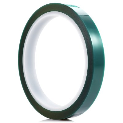 12mm x 33m PET Adhesive Tape for PCB SolderingOther Tools<br>12mm x 33m PET Adhesive Tape for PCB Soldering<br><br>Package Contents: 1 x Green PET Tape<br>Package size (L x W x H): 11.00 x 11.00 x 2.50 cm / 4.33 x 4.33 x 0.98 inches<br>Package weight: 0.0450 kg<br>Product weight: 0.0380 kg<br>Special Functions : Adhesive Tape for PCB Soldering