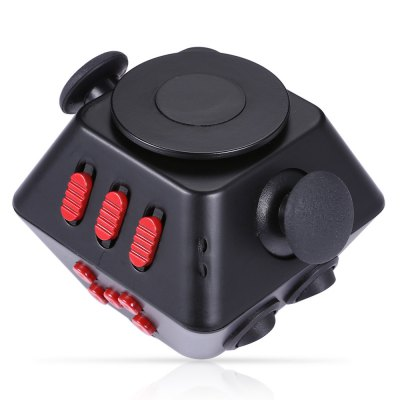Multifunctional Magic Fidget Spinner Cube 2 in 1 Combined GyroFidget Spinners<br>Multifunctional Magic Fidget Spinner Cube 2 in 1 Combined Gyro<br><br>Color: Black Red<br>Frame material: ABS<br>Package Contents: 1 x Spinner Fidget Cube, 1 x Fidget Cube Chinese-English User Manual<br>Package size (L x W x H): 8.50 x 8.50 x 8.50 cm / 3.35 x 3.35 x 3.35 inches<br>Package weight: 0.1500 kg<br>Product size (L x W x H): 7.00 x 7.00 x 6.00 cm / 2.76 x 2.76 x 2.36 inches<br>Product weight: 0.1150 kg<br>Type: Polygon