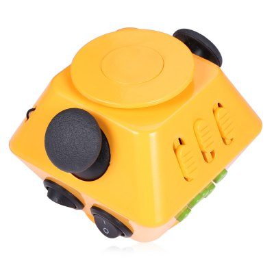 Multifunctional Magic Fidget Spinner Cube 2 in 1 Combined GyroFidget Spinners<br>Multifunctional Magic Fidget Spinner Cube 2 in 1 Combined Gyro<br><br>Frame material: ABS<br>Package Contents: 1 x Spinner Fidget Cube, 1 x Fidget Cube Chinese-English User Manual<br>Package size (L x W x H): 8.50 x 8.50 x 8.50 cm / 3.35 x 3.35 x 3.35 inches<br>Package weight: 0.1500 kg<br>Product size (L x W x H): 7.00 x 7.00 x 6.00 cm / 2.76 x 2.76 x 2.36 inches<br>Product weight: 0.1150 kg<br>Type: Polygon