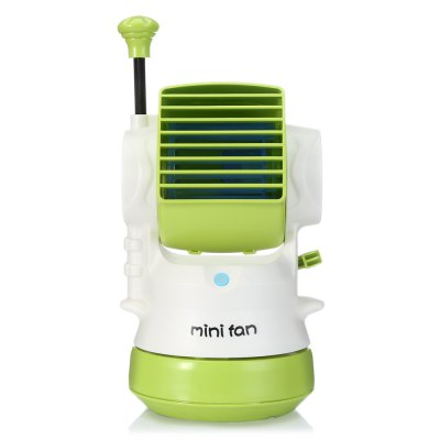CH1660 Robot Style Mini Misting FanOther Home Improvement<br>CH1660 Robot Style Mini Misting Fan<br><br>Color: Blue,Green,Pink,Purple<br>Features: Bladeless, Portable, Space-saving<br>Package Contents: 1 x Misting Fan, 1 x USB Cable, 1 x Chinese / English User Manual<br>Package size (L x W x H): 13.50 x 12.50 x 21.00 cm / 5.31 x 4.92 x 8.27 inches<br>Package weight: 0.4530 kg<br>Product size (L x W x H): 7.70 x 10.50 x 18.90 cm / 3.03 x 4.13 x 7.44 inches<br>Product weight: 0.3340 kg<br>Type: Cooling Fans<br>Voltage: 5V<br>Wattage: 2.5W