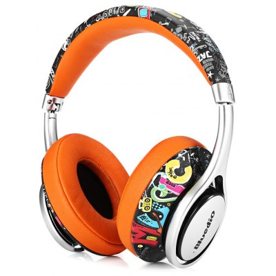 Bluedio A2 Foldable Bluetooth Headphones with Mic