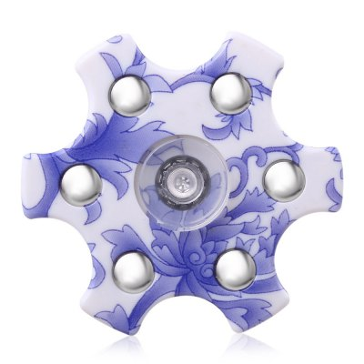 6-leaf Blue-and-white Porcelain Style Fidget SpinnerFidget Spinners<br>6-leaf Blue-and-white Porcelain Style Fidget Spinner<br><br>Color: Multi-color<br>Frame material: Plastic<br>Package Contents: 1 x Fidget Spinner<br>Package size (L x W x H): 6.80 x 6.80 x 2.30 cm / 2.68 x 2.68 x 0.91 inches<br>Package weight: 0.0700 kg<br>Product size (L x W x H): 5.80 x 5.80 x 1.30 cm / 2.28 x 2.28 x 0.51 inches<br>Product weight: 0.0570 kg<br>Swing Numbers: 6<br>Type: Hexagon