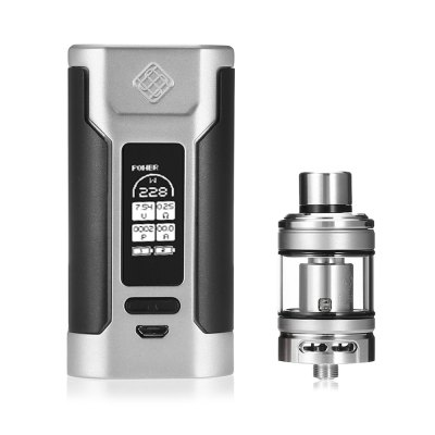 Original WISMEC PREDATOR 228 KitMod kits<br>Original WISMEC PREDATOR 228 Kit<br><br>Adjustable voltage range: 0.5 - 9V<br>APV Mod Wattage Range: Over 200W<br>Atomizer Resistance: 0.2 ohm / 0.25 ohm<br>Atomizer Type: Tank Atomizer, Clearomizer<br>Battery Form Factor: 18650<br>Battery Quantity: 2pcs ( not included )<br>Brand: Wismec<br>Connection Threading of Atomizer: 510<br>Connection Threading of Battery: 510<br>Material: Glass, Zinc Alloy, Stainless Steel<br>Mod Type: VV/VW Mod, Temperature Control Mod<br>Package Contents: 1 x Predator 228 Mod, 1 x Elabo Clearomizer, 1 x Triple 0.2 ohm Head, 1 x QC USB Cable, 2 x English User Manual<br>Package size (L x W x H): 13.00 x 8.80 x 6.50 cm / 5.12 x 3.46 x 2.56 inches<br>Package weight: 0.4400 kg<br>Product size (L x W x H): 13.60 x 4.40 x 2.90 cm / 5.35 x 1.73 x 1.14 inches<br>Product weight: 0.2280 kg<br>Temperature Control Range: 200 - 600 Deg.F / 100 - 315 Deg.C