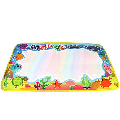 Marine Animal Water Drawing Mat Doodle BoardOther Educational Toys<br>Marine Animal Water Drawing Mat Doodle Board<br><br>Completeness: Finished Goods<br>Gender: Unisex<br>Materials: Other<br>Package Contents: 1 x Drawing Mat, 2 x Pen<br>Package size: 30.00 x 37.00 x 1.00 cm / 11.81 x 14.57 x 0.39 inches<br>Package weight: 0.1000 kg<br>Product size: 59.00 x 36.00 x 0.50 cm / 23.23 x 14.17 x 0.2 inches<br>Product weight: 0.0700 kg<br>Stem From: China