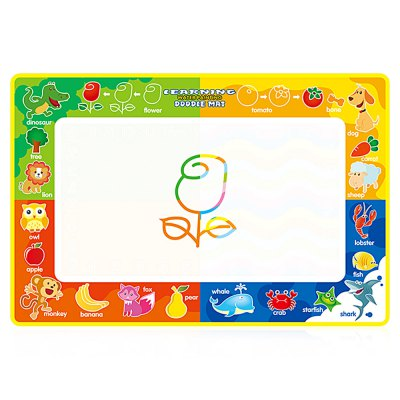 Four Color Water Drawing Mat Doodle Board