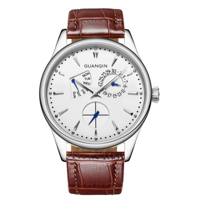 GUANQIN GS19055 Male Quartz Watch