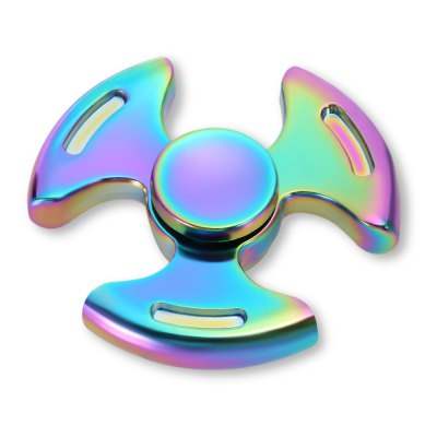 Tri-wing Rainbow Zinc Alloy Fidget SpinnerFidget Spinners<br>Tri-wing Rainbow Zinc Alloy Fidget Spinner<br><br>Color: Colorful<br>Frame material: Zinc Alloy<br>Package Contents: 1 x Fidget Spinner<br>Package size (L x W x H): 9.00 x 6.20 x 1.90 cm / 3.54 x 2.44 x 0.75 inches<br>Package weight: 0.1360 kg<br>Product size (L x W x H): 5.60 x 5.60 x 1.40 cm / 2.2 x 2.2 x 0.55 inches<br>Product weight: 0.0850 kg<br>Swing Numbers: 3<br>Type: Rainbow
