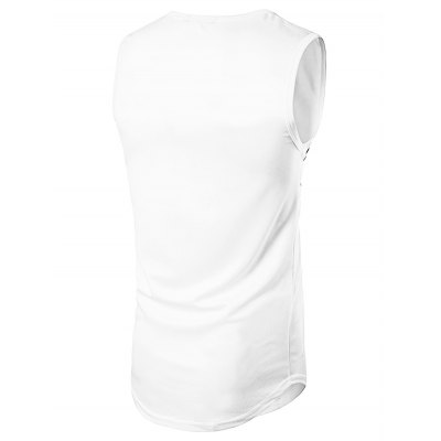 WHATLEES Sleeveless T Shirt VestMens Short Sleeve Tees<br>WHATLEES Sleeveless T Shirt Vest<br><br>Brand: WHATLEES<br>Color: White<br>Material: Cotton<br>Package Content: 1 x Vest<br>Package size: 40.00 x 30.00 x 2.00 cm / 15.75 x 11.81 x 0.79 inches<br>Package weight: 0.3000 kg<br>Product weight: 0.2500 kg<br>Season: Autumn, Summer