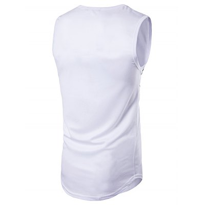 WHATLEES Printed Sleeveless T ShirtMens Short Sleeve Tees<br>WHATLEES Printed Sleeveless T Shirt<br><br>Brand: WHATLEES<br>Material: Cotton<br>Neckline: Round Neck<br>Package Content: 1 x Vest<br>Package size: 40.00 x 30.00 x 2.00 cm / 15.75 x 11.81 x 0.79 inches<br>Package weight: 0.3000 kg<br>Product weight: 0.2500 kg<br>Season: Autumn, Summer<br>Sleeve Length: Sleeveless