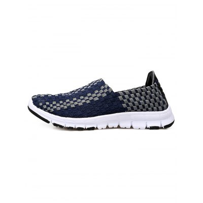 Ladies Weaving Slip On ShoesWomens Sneakers<br>Ladies Weaving Slip On Shoes<br><br>Contents: 1 x Pair of Shoes<br>Materials: EVA<br>Occasion: Casual<br>Package Size ( L x W x H ): 30.00 x 18.00 x 11.00 cm / 11.81 x 7.09 x 4.33 inches<br>Package Weights: 0.700KG<br>Seasons: Autumn,Spring,Summer<br>Size: 35,36,37,38,39,40<br>Style: Leisure<br>Type: Casual Shoes