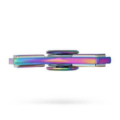 Tri-wing Rainbow ADHD Zinc Alloy Fidget SpinnerFidget Spinners<br>Tri-wing Rainbow ADHD Zinc Alloy Fidget Spinner<br><br>Color: Colorful<br>Frame material: Zinc Alloy<br>Package Contents: 1 x Fidget Spinner, 1 x Box<br>Package size (L x W x H): 9.00 x 7.00 x 1.90 cm / 3.54 x 2.76 x 0.75 inches<br>Package weight: 0.1220 kg<br>Product size (L x W x H): 6.50 x 6.50 x 1.30 cm / 2.56 x 2.56 x 0.51 inches<br>Product weight: 0.0750 kg<br>Swing Numbers: 3<br>Type: Rainbow