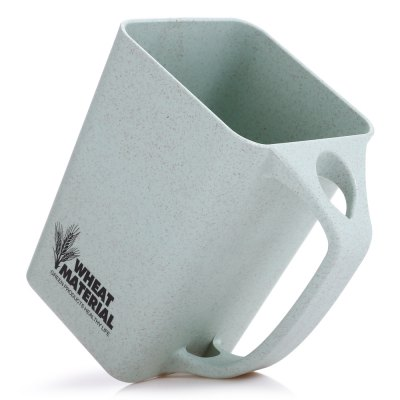 Wheat Straw 30-degree Tilt MugWater Cup &amp; Bottle<br>Wheat Straw 30-degree Tilt Mug<br><br>Color: Green<br>Package Contents: 1 x Mug<br>Package size (L x W x H): 11.80 x 8.80 x 13.20 cm / 4.65 x 3.46 x 5.2 inches<br>Package weight: 0.1300 kg<br>Product size (L x W x H): 11.00 x 10.50 x 7.60 cm / 4.33 x 4.13 x 2.99 inches<br>Product weight: 0.0800 kg