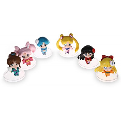 6pcs / set Collectible Animation Figurine Model