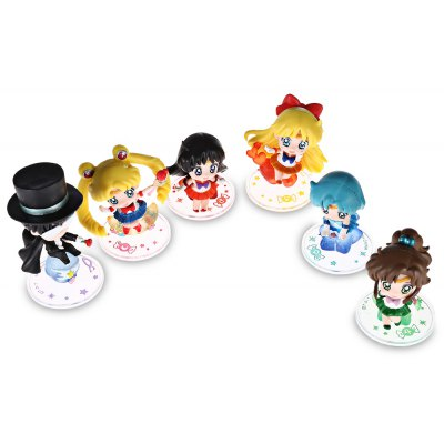 Collectible Animation Figurine Model - 6pcs / set
