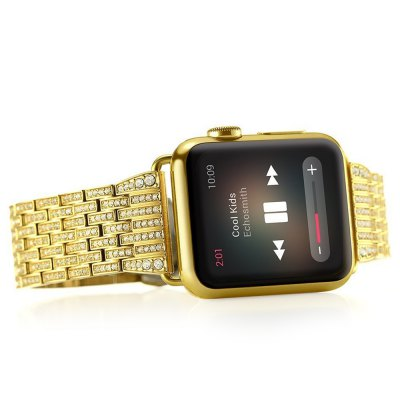 Diamante Watch Band StrapApple Watch Bands<br>Diamante Watch Band Strap<br><br>Function: for Apple Watch 38mm<br>Material: Stainless Steel<br>Package Contents: 1 x Watchband<br>Package size: 25.50 x 8.00 x 1.30 cm / 10.04 x 3.15 x 0.51 inches<br>Package weight: 0.1050 kg<br>Product size: 18.20 x 3.20 x 0.30 cm / 7.17 x 1.26 x 0.12 inches<br>Product weight: 0.0830 kg<br>Type: Watchband