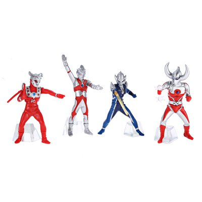 Collectible PVC Animation Figurine Model - 5pcs / setMovies &amp; TV Action Figures<br>Collectible PVC Animation Figurine Model - 5pcs / set<br><br>Completeness: Finished Goods<br>Gender: Unisex<br>Materials: PVC<br>Package Contents: 5 x Action Figure<br>Package size: 19.00 x 15.00 x 5.00 cm / 7.48 x 5.91 x 1.97 inches<br>Package weight: 0.2400 kg<br>Stem From: Japan<br>Theme: Movie and TV