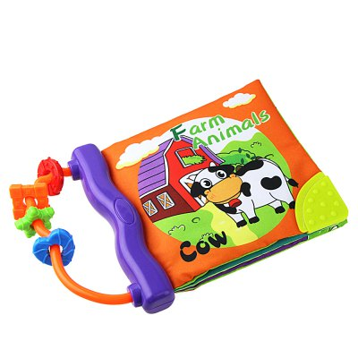 Baby English Cloth Book Toy