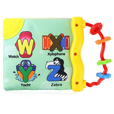 English Baby Cloth Book Toy
