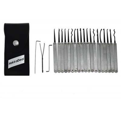 HakkaDeal ZH - 446693 22PCS Hook Lock Pick Tools