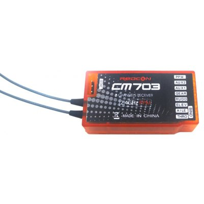REDCON CM703 2.4G 7 Channel Receiver with PPM Output