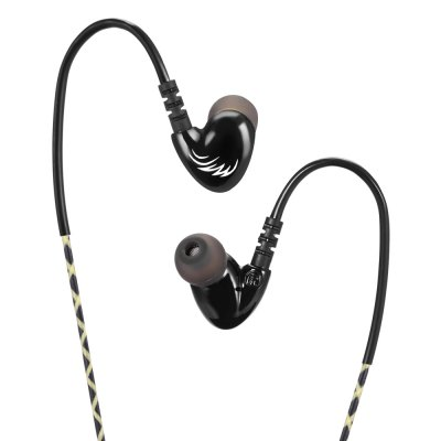 Cosonic W1 In-ear Bass EarbudsEarbud Headphones<br>Cosonic W1 In-ear Bass Earbuds<br><br>Application: Mobile phone, Sport, Running, Portable Media Player, Computer<br>Brand: COSONIC<br>Compatible with: Computer<br>Connectivity: Wired<br>Function: MP3 player, Answering Phone, Noise Cancelling, Microphone<br>Impedance: 16ohms±15 percent<br>Language: No<br>Material: PC, ABS<br>Model: W1<br>Package Contents: 1 x Earbuds, 2 x Pair of Tips, 1 x Clamp<br>Package size (L x W x H): 15.00 x 8.50 x 2.00 cm / 5.91 x 3.35 x 0.79 inches<br>Package weight: 0.0470 kg<br>Plug Type: 3.5mm<br>Product weight: 0.0160 kg