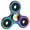 Buy Zinc Alloy Tri-wing Rainbow Fidget Spinner Stress Relief Toy COLORFUL