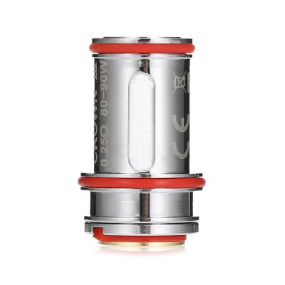 4pcs UWELL Crown 3 0.25 ohm CoilsAccessories<br>4pcs UWELL Crown 3 0.25 ohm Coils<br><br>Brand: Uwell<br>Material: Stainless Steel<br>Package Contents: 4 x Coil<br>Package size (L x W x H): 8.00 x 4.00 x 1.80 cm / 3.15 x 1.57 x 0.71 inches<br>Package weight: 0.0550 kg<br>Product size (L x W x H): 2.50 x 1.50 x 1.50 cm / 0.98 x 0.59 x 0.59 inches<br>Product weight: 0.0110 kg<br>Resistance : 0.25 ohm