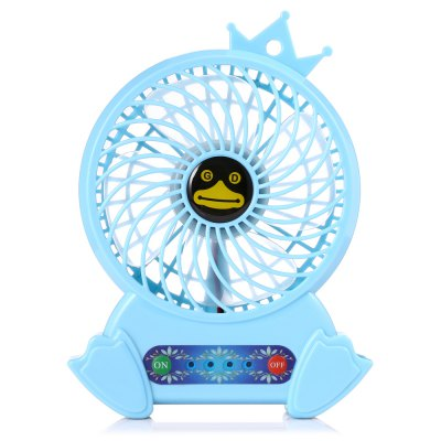 Penguin Low Noise Portable Electric FanOther Home Improvement<br>Penguin Low Noise Portable Electric Fan<br><br>Features: Portable, Space-saving<br>Material: ABS<br>Package Contents: 1 x Fan, 1 x USB Cable<br>Package size (L x W x H): 20.50 x 13.10 x 4.30 cm / 8.07 x 5.16 x 1.69 inches<br>Package weight: 0.2170 kg<br>Product size (L x W x H): 16.00 x 11.90 x 3.50 cm / 6.3 x 4.69 x 1.38 inches<br>Product weight: 0.1690 kg