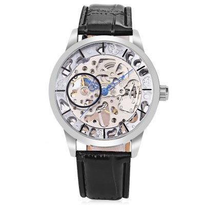 Winner F120520 Men Auto Mechanical WatchMens Watches<br>Winner F120520 Men Auto Mechanical Watch<br><br>Band material: Leather<br>Band size: 25.5 x 2cm / 10.04 x 0.79 inches<br>Brand: Winner<br>Case material: Alloy<br>Clasp type: Pin buckle<br>Dial size: 4.5 x 4.5 x 1cm / 1.77 x 1.77 x 0.39 inches<br>Display type: Analog<br>Movement type: Automatic mechanical watch<br>Package Contents: 1 x Watch<br>Package size (L x W x H): 26.50 x 5.50 x 2.00 cm / 10.43 x 2.17 x 0.79 inches<br>Package weight: 0.0910 kg<br>Product size (L x W x H): 25.50 x 4.50 x 1.00 cm / 10.04 x 1.77 x 0.39 inches<br>Product weight: 0.0600 kg<br>Shape of the dial: Round<br>Watch mirror: Mineral glass<br>Watch style: Fashion, Business<br>Watches categories: Male table<br>Water resistance : Life water resistant<br>Wearable length: 19.00 - 24.00cm / 7.48 - 9.45 inches