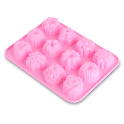 Silicone Ice Cake Cookie Mold